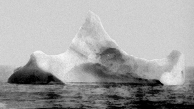 iceberg, original, titanic, sunk, ship