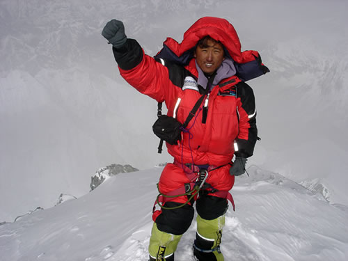 Namgyal Sherpa Mt. Everest