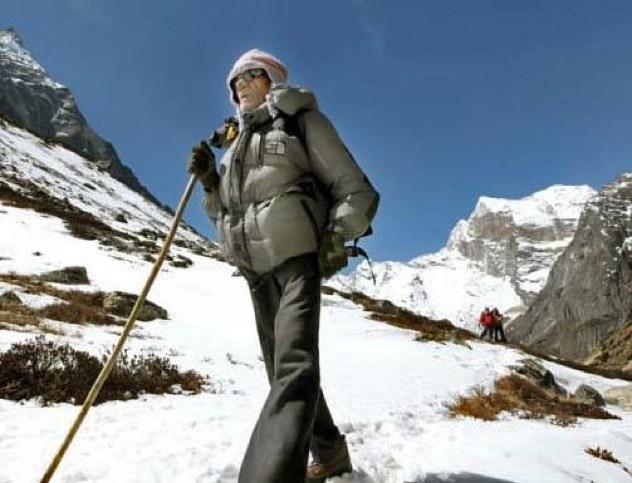 Shailendra Kumar Upadhyay Mt. Everest